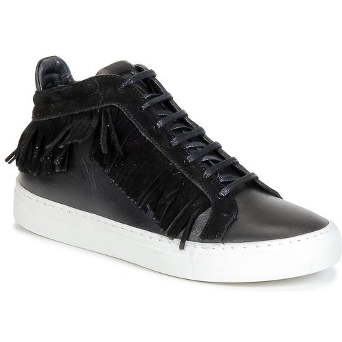 Shoes Women Hi top trainers Paul & Joe PAULA Black