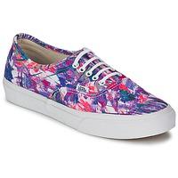 Shoes Women Low top trainers Vans AUTHENTIC SLIM Purple