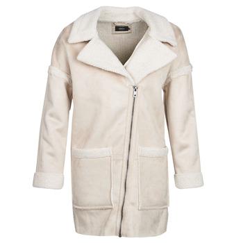 Clothing Women coats Only ONLFELICITY Beige