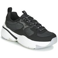 Shoes Women Low top trainers Victoria AIRE NYLON/SERRAJE PU Black