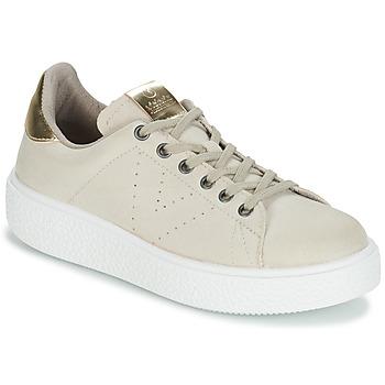 Shoes Women Low top trainers Victoria UTOPIA RELIEVE ANTELINA Beige