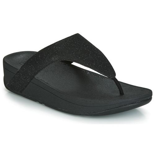 Shoes Women Flip flops FitFlop LOTTIE GLITZY Black