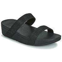 Shoes Women Mules FitFlop LOTTIE GLITZY SLIDE Black