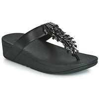 Shoes Women Flip flops FitFlop JIVE TREASURE Black