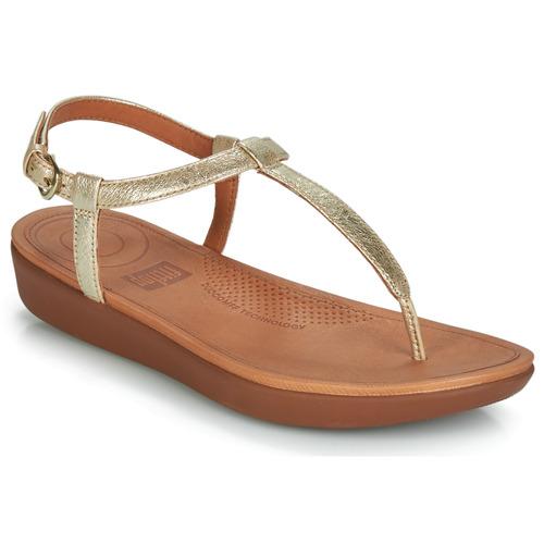 Shoes Women Flip flops FitFlop TIA Gold